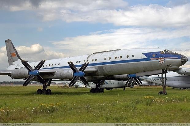 Tupolev Tu-114 Rossiya (Russia)