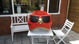 Again a blood raven costume update!