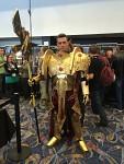 Custodes cosplay