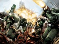 Dark Angels from 7thE Rulebook