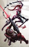 Dark Eldar Wych vs Daemonhunter Stormtrooper