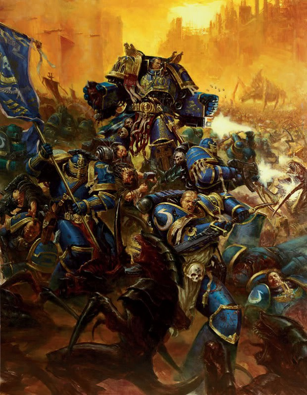 Warhammer 40k stoff.