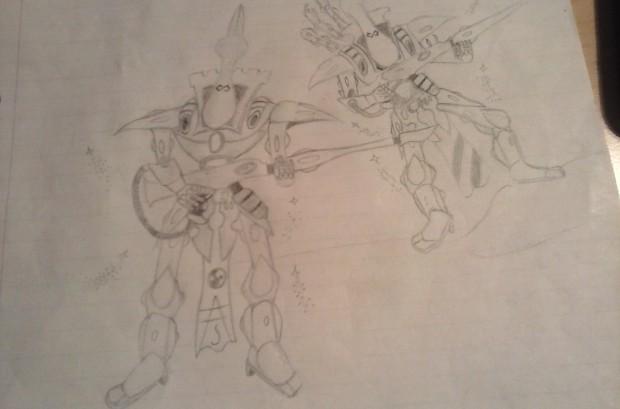My sketch from yesterday