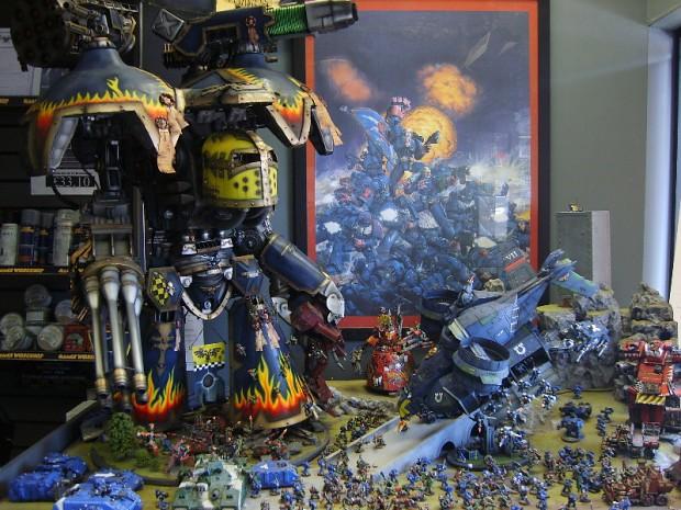 40k Diorama Image Warhammer 40k Fan Group Mod Db
