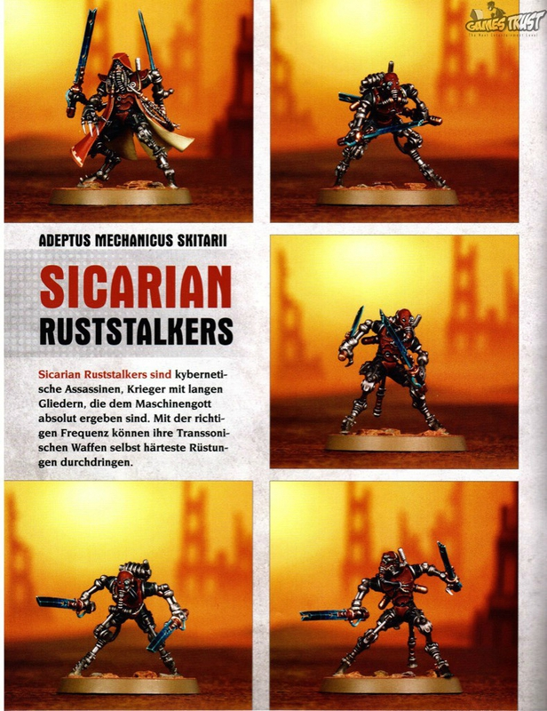 New Skitarii forces