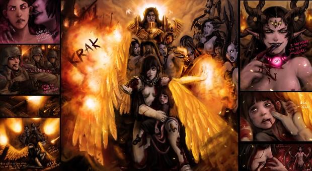 Followers Of Slaanesh Image Warhammer 40k Fan Group Mod Db