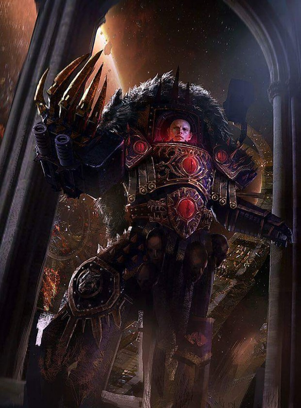 Horus Lupercal Image - Warhammer 40k Fan Group