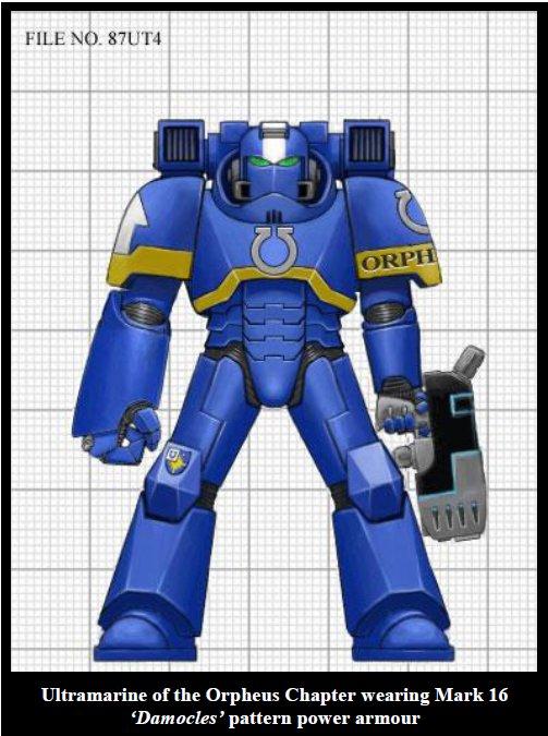 MK16 power armor.