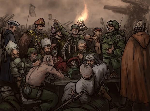 cossacks in 40k