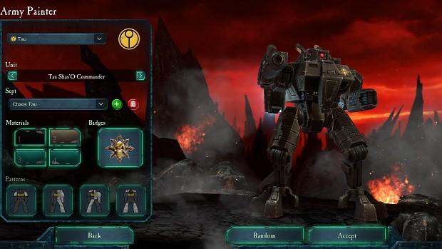 Dawn Of War  Last Stand Tau Commander Builds