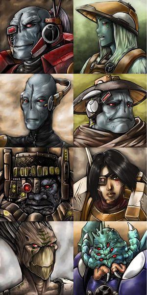 The Tau Castes Image Warhammer 40k Fan Group Mod Db