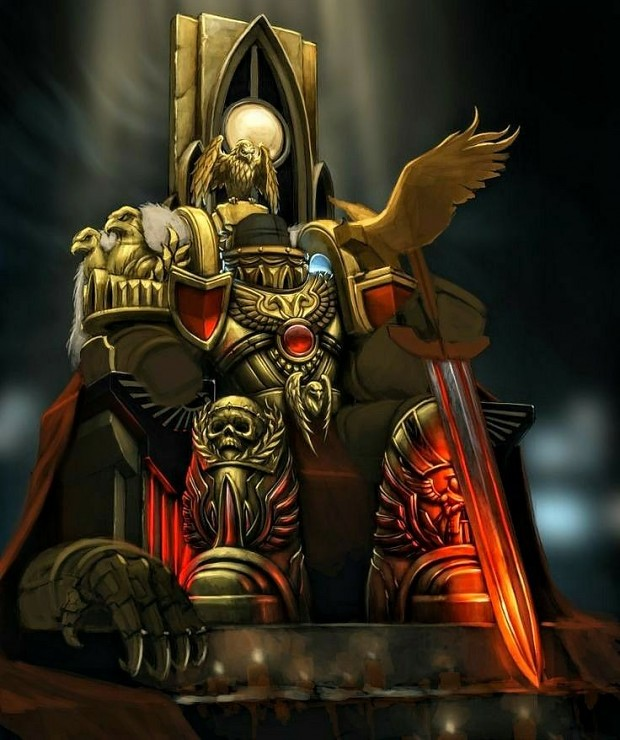 Vacant armor of the Emperor of Mankind