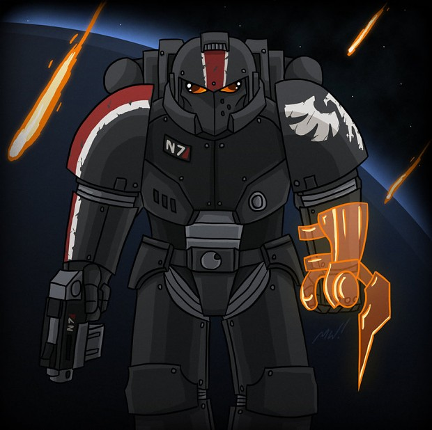 Brother commander Shepard