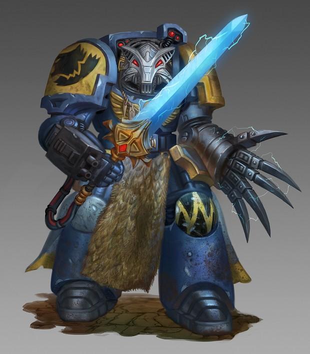 Wolf Guard Terminator Sergeant