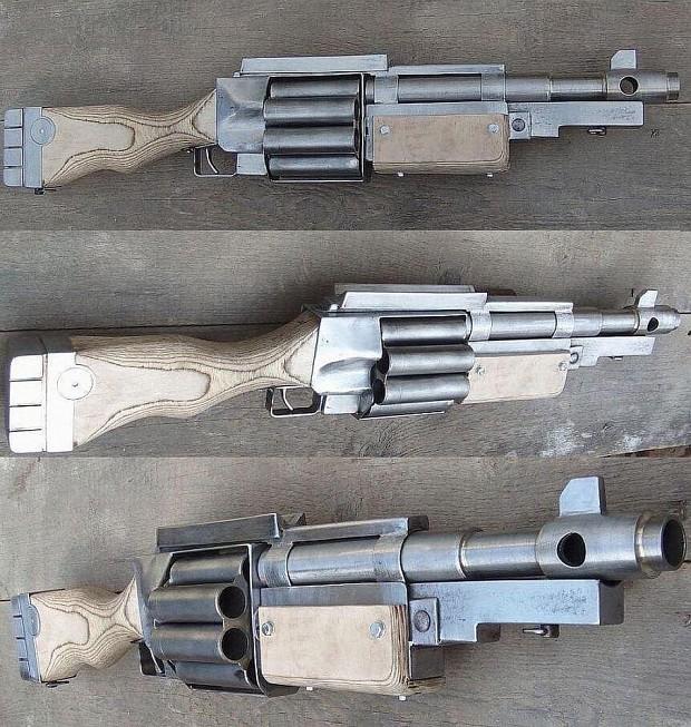 Lucius Pattern Mark 22c Shotgun