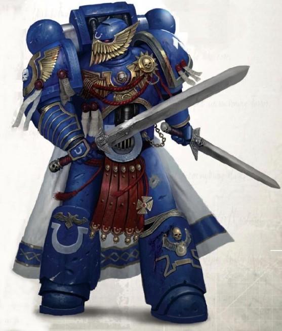 Ultramarine honor guard