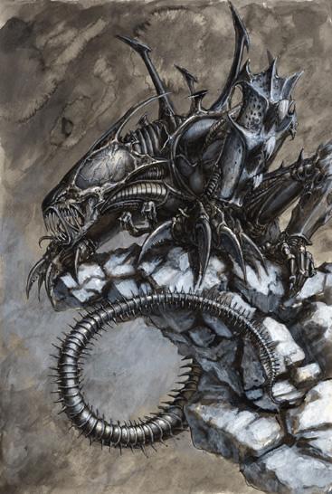 Xenomorph Genestealer Hybrid Image Warhammer 40k Fan