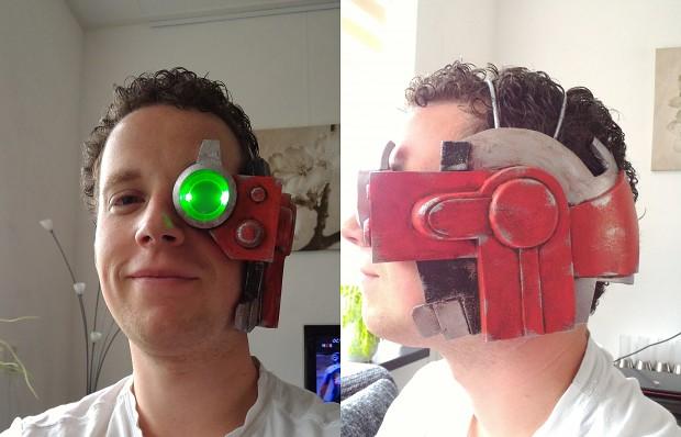 Blood raven costume update - Bionic eye v2