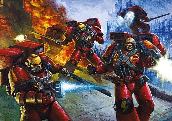 Blood Angels image Warhammer 40K Fan Group Mod DB
