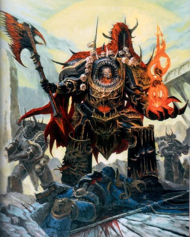Warhammer 40k Chaos Space Marines: Warhammer 40K Fan Group