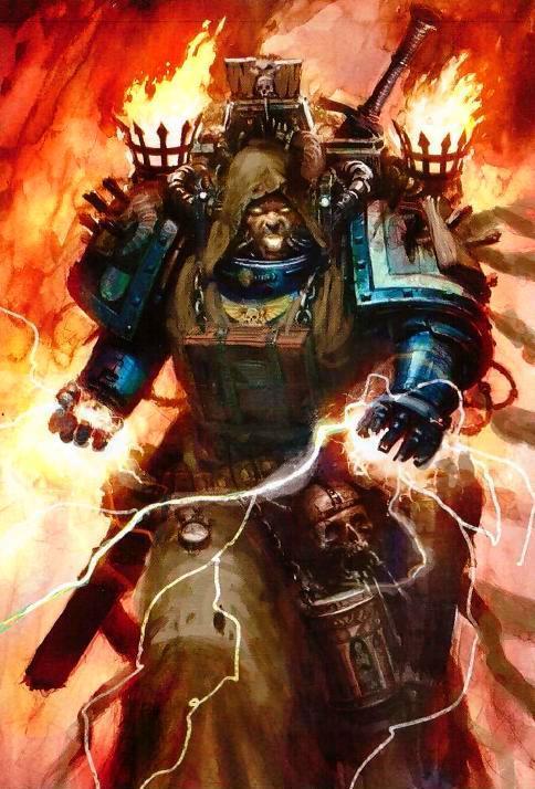 Dark Angels art from new codex image Warhammer 40K Fan