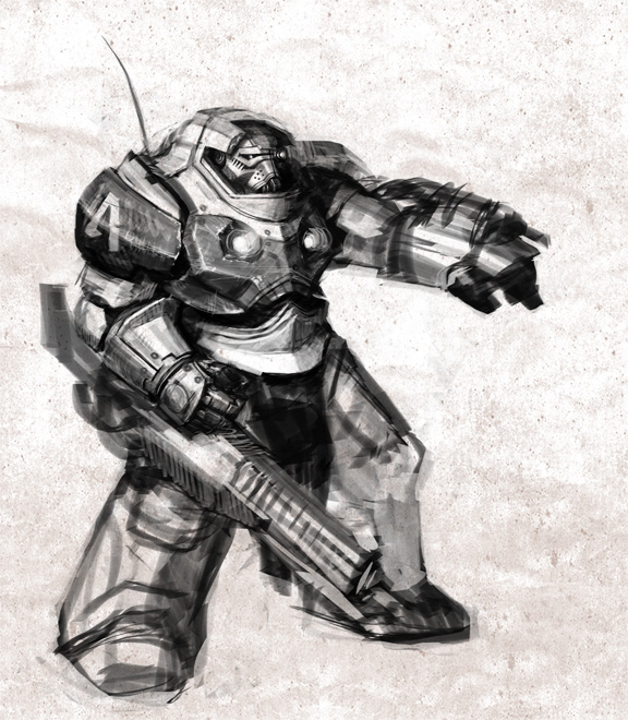 Dark Age of Technology Terminator?