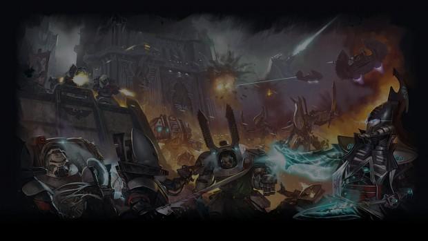 Dark Angels vs Eldar