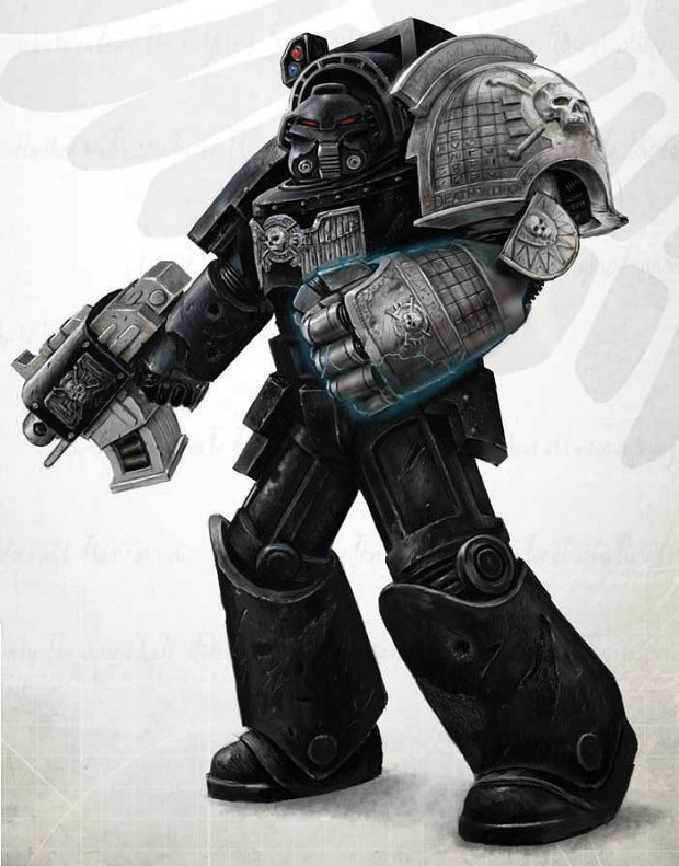 Deathwatch First Company Veteran