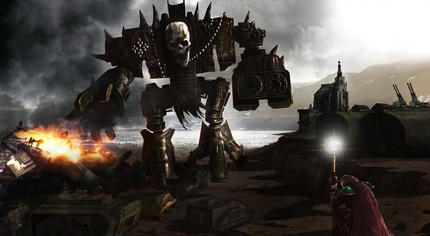 Eisenhorn vs Chaos Titan