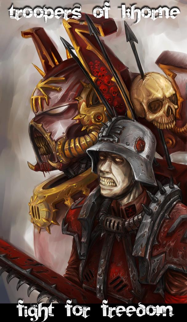 Blood For The Blood God  Image - Warhammer 40k Fan Group