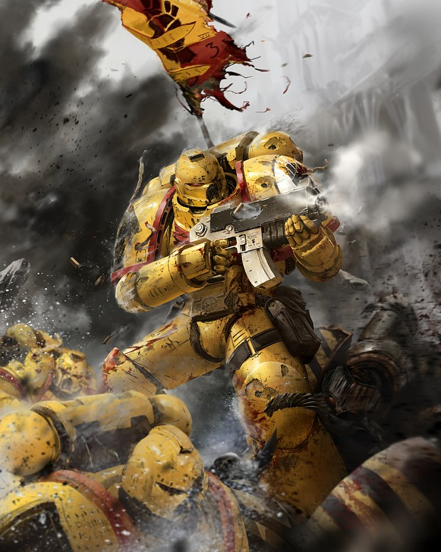 Space marine imperial fists