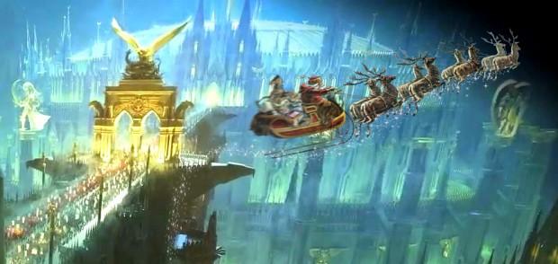 Imperial Palace and Santa