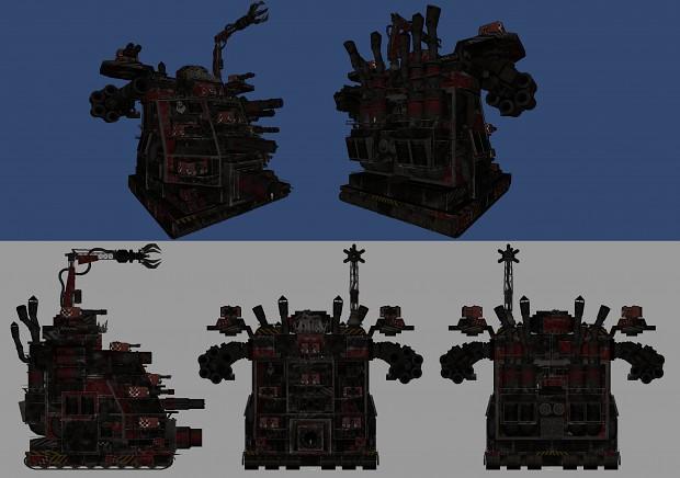 Ork Mega Gargant redesign/modernization