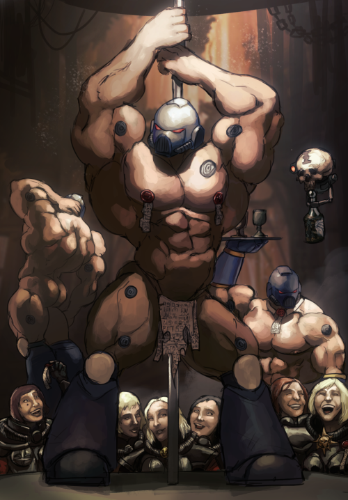 Meanwhile, in a Sororitas underground bunker....