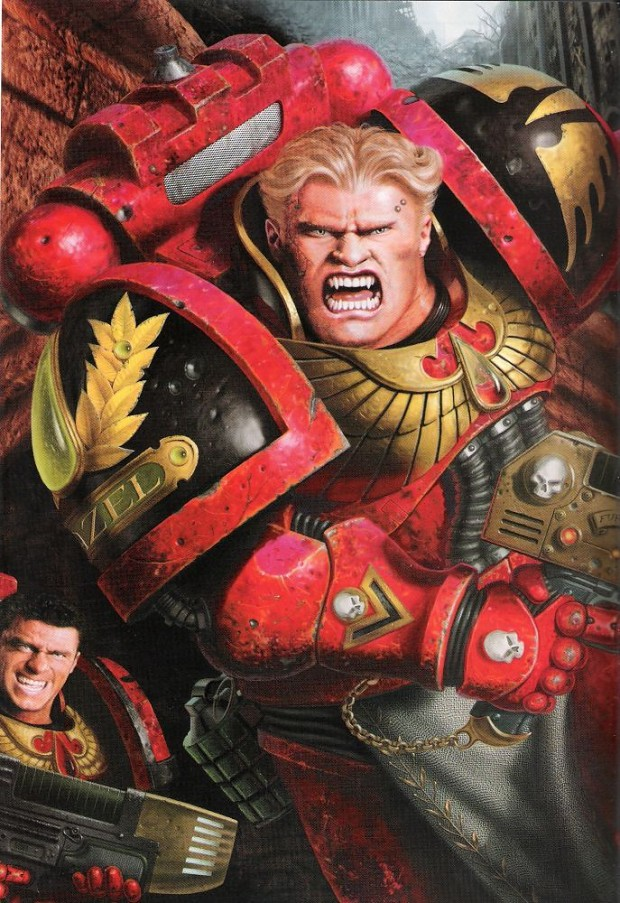 2nd Ed Blood Angels Image - Warhammer 40k Fan Group