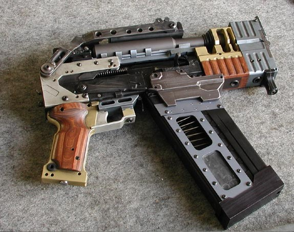 Real life bolter... or at least close enough