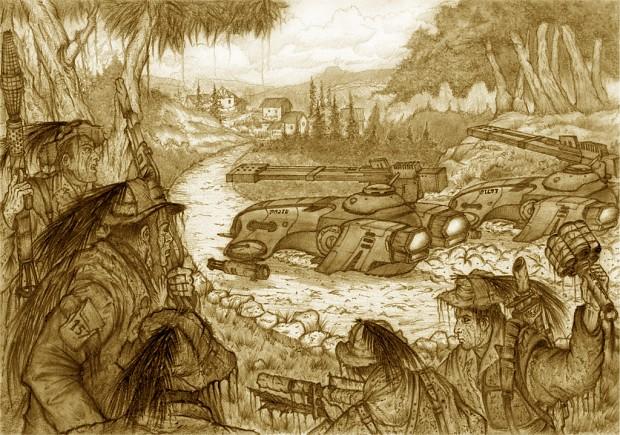 Tank hunting