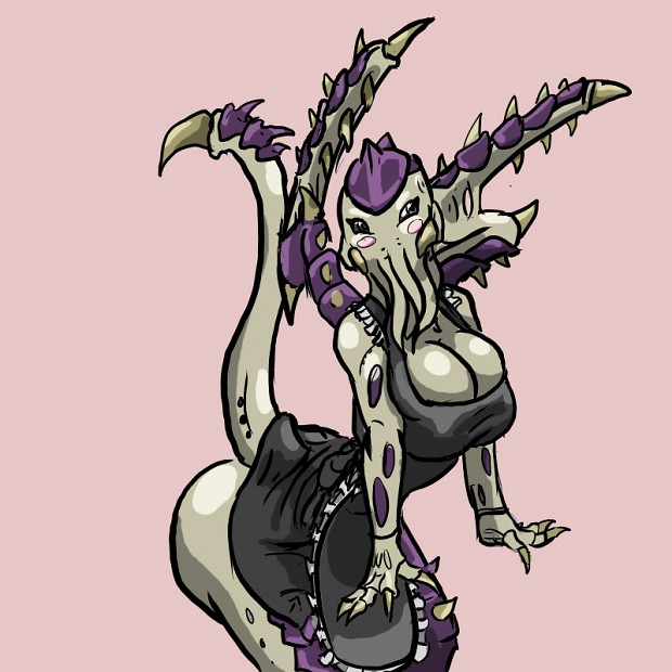 Tyranid maid