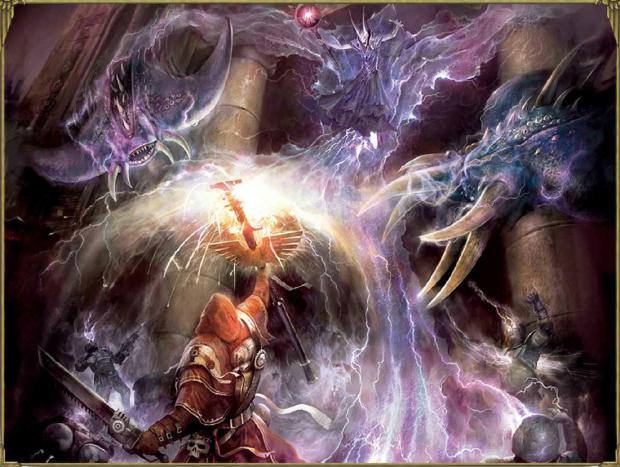 An Inquisitor's Gandalf impression