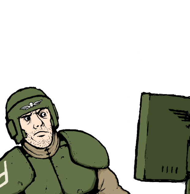 Guardsman's reaction to the next image.