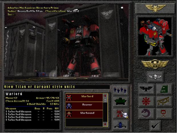Some epic units form Warhammer40k Final Liberation