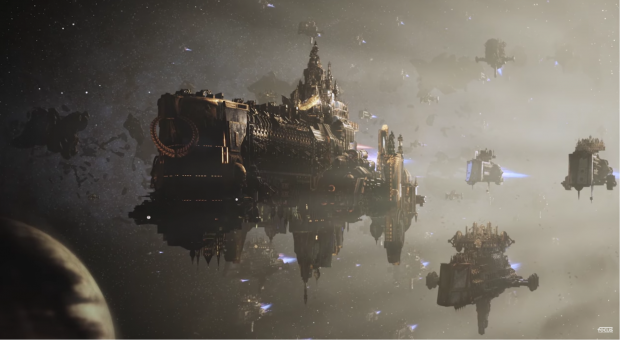 Battlefleet Gothic: Armada 2 : Reveal Trailer