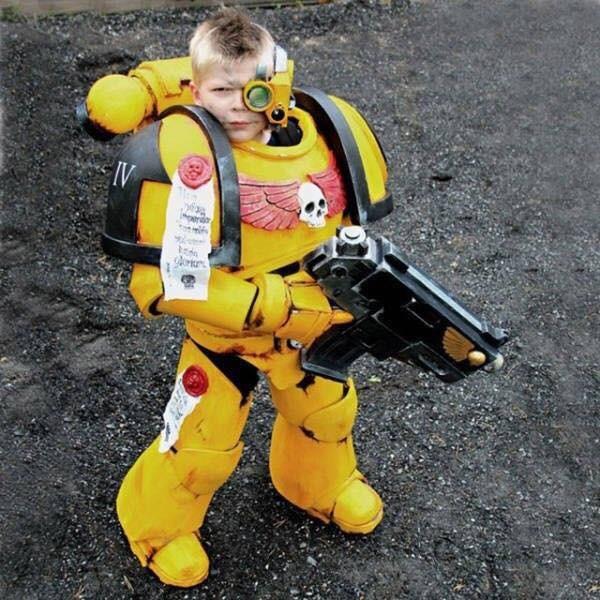 Space Marine Kindersoldat