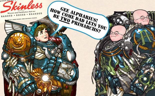 Guilliman was just jealous image - Warhammer 40K Fan Group - Mod DB