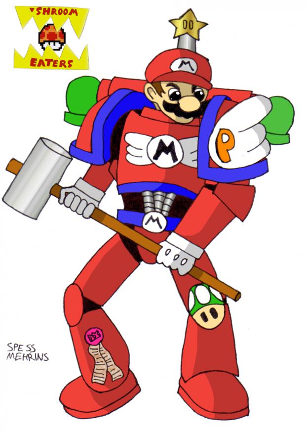 Brother captain Mario