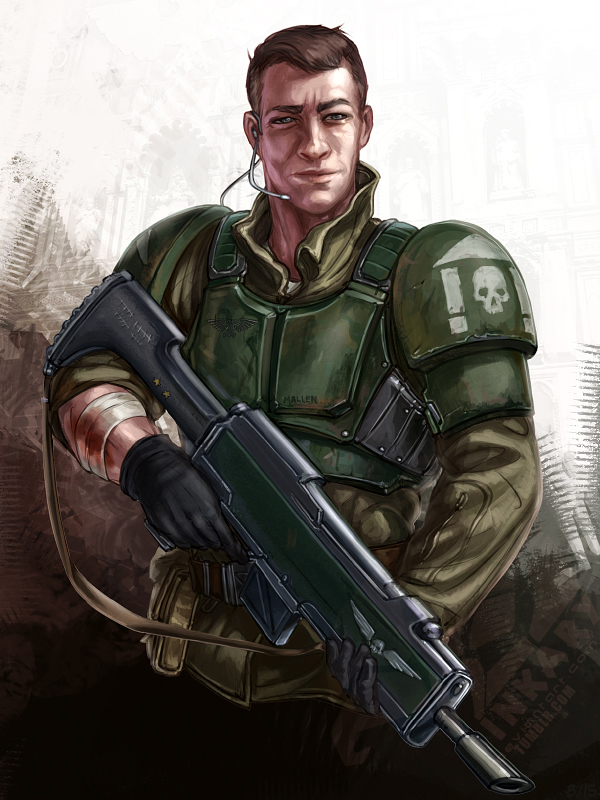 Smirking Guardsman