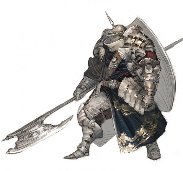 Warhammer style Grey Knight?