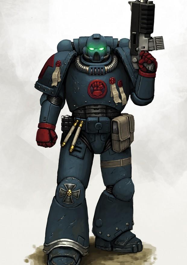 Crimson Fist Image - Warhammer 40k Fan Group