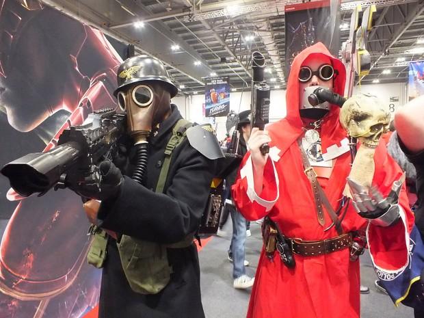 Krieg Troop and Techpriest