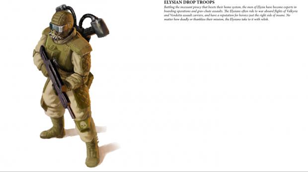 Astra Militarum - Eylsian Drop Troops